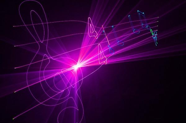 Лазерное-шоу