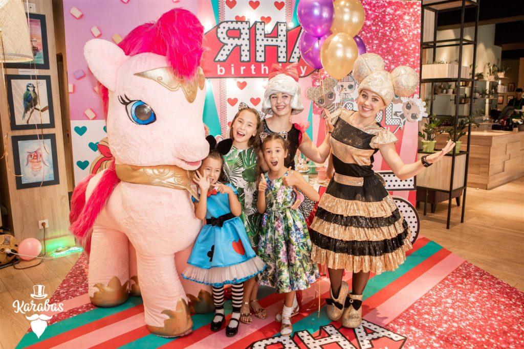 детский день рождения в Алматы