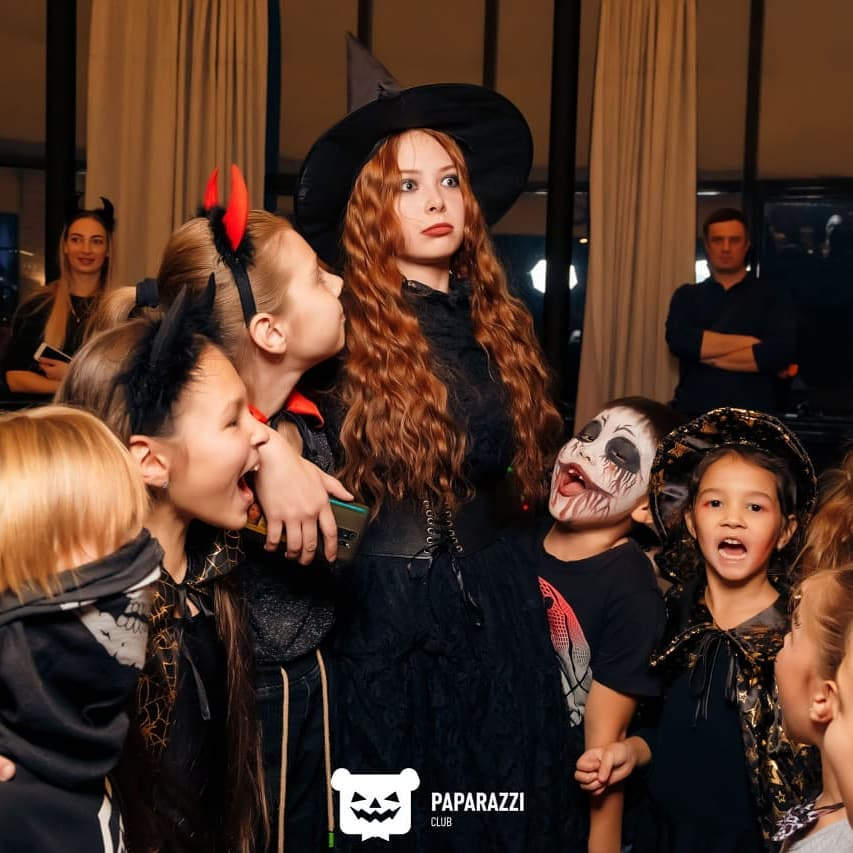 Детский праздник на Хэллоуин в Алматы
